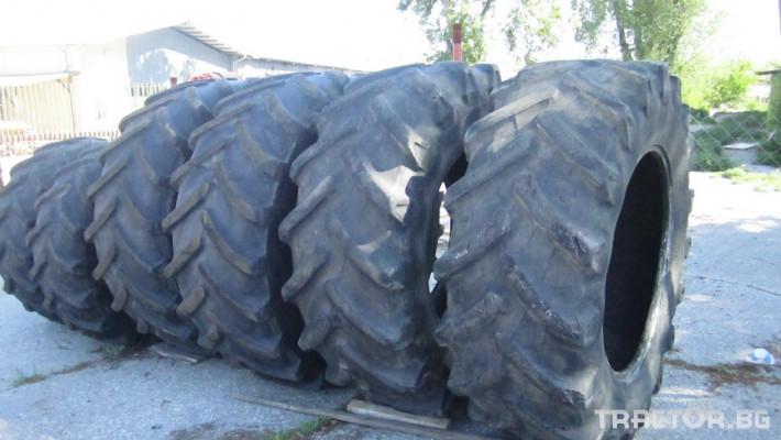 Гуми за трактори Гуми Michelin 710/70 R42 XM 28 0 - Трактор БГ